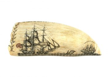 World-Record Scrimshaw sold for $456,000