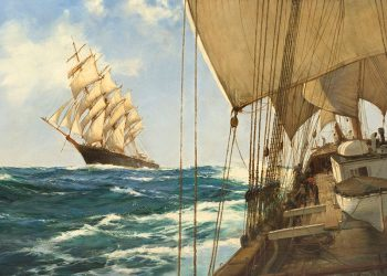 Montague Dawson painting sold for $84,000