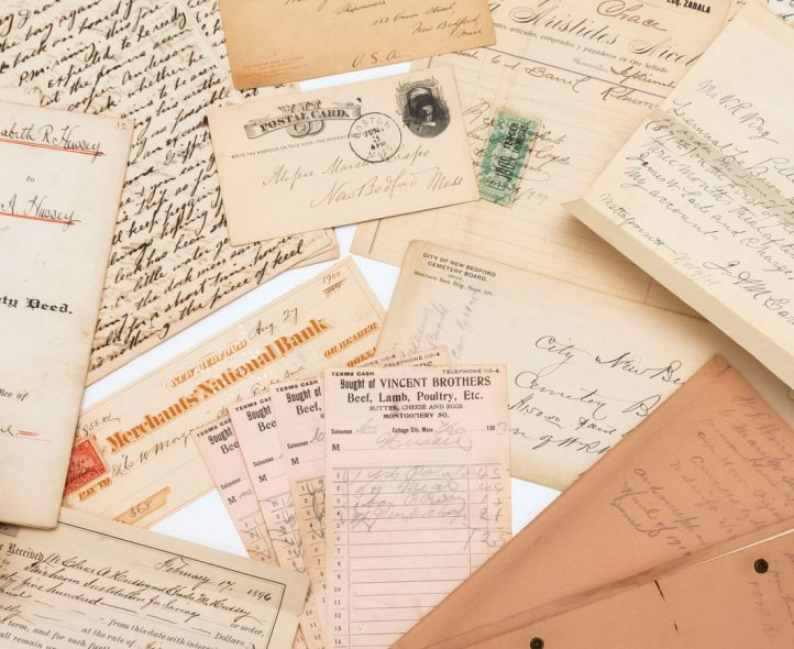 Letters and ephemera