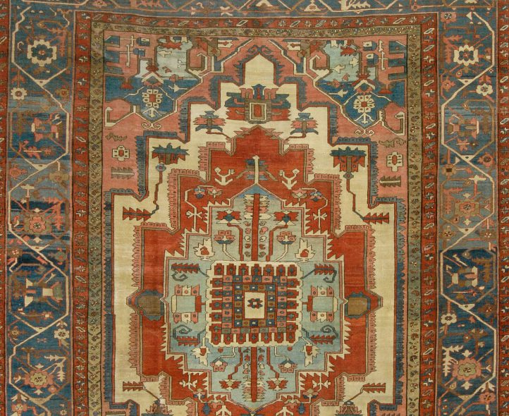 Serapi rug sold by Eldred's