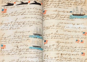 Whaling journal sold for $90,000